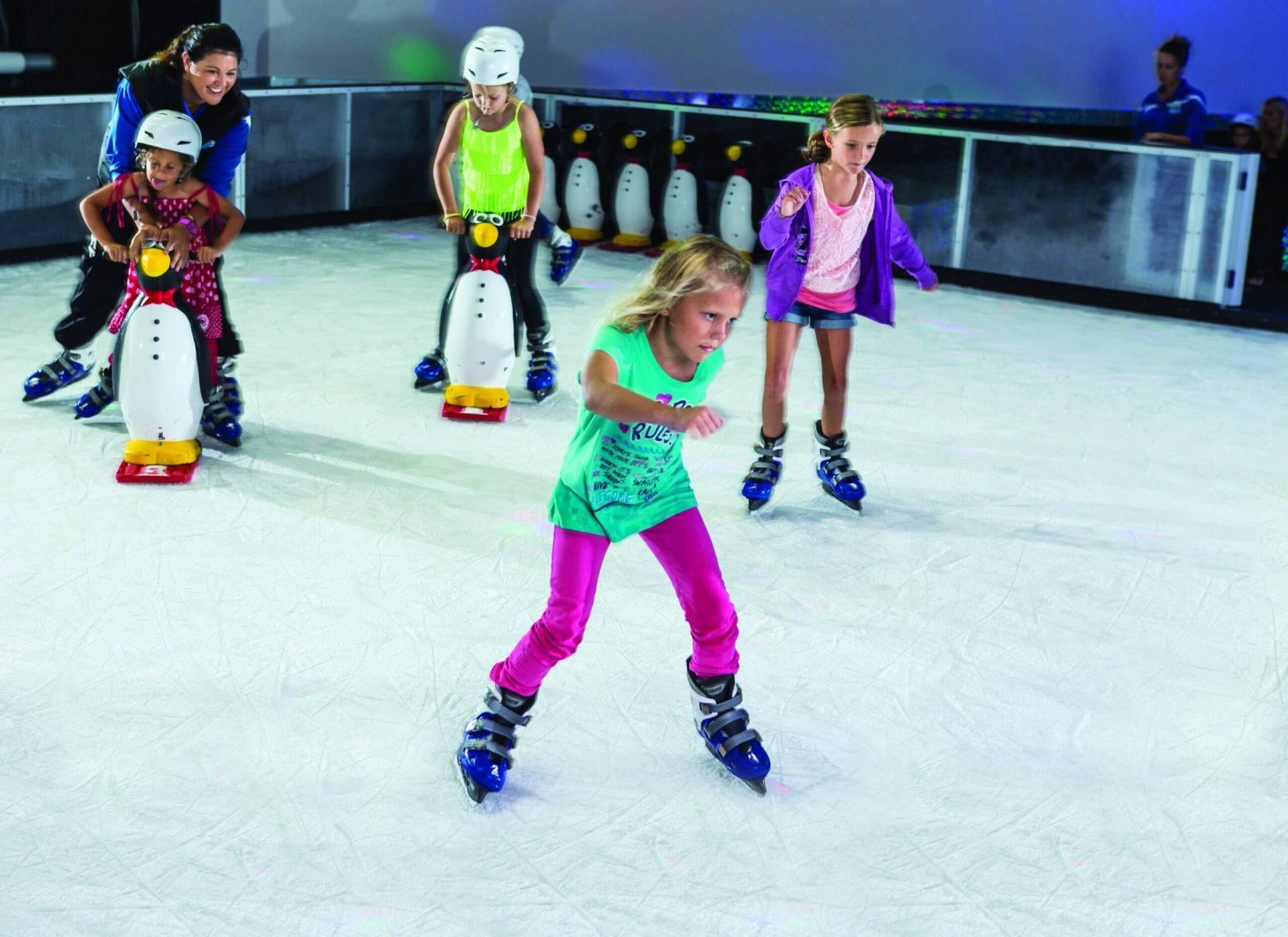 Girls Skating for Billboard