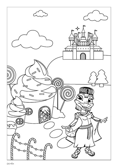 Colouring In Book4